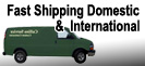 Fast Shipping Domestic & International