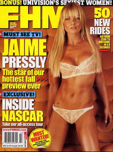 FHM Jaime Pressly Bonus! Univisions Sexiest Women: October 2005