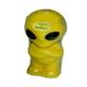 shopbestlove: Blacklight Alien Candle [6 In]