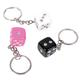 shopbestlove: Dice Key Chain [various colors]