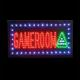 shopbestlove: Game Room LED motion Sign [19in x 10in]