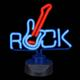 shopbestlove: Rock Guitar 12In Neon Sign ( Red / Blue )