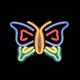 shopbestlove: Neon Butterfly Sign Lamp