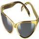 shopbestlove: Gold Wrap Around Sunglasses