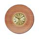 shopbestlove: Blonde bead wood finish clock w/ 2 inch dial
