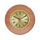 shopbestlove: Blonde bead wood finish clock w/ 3 inch dial