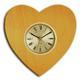 shopbestlove: Blonde Heart Clock with 2 inch dial
