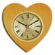 shopbestlove: Blonde Heart Clock with 3 inch dial