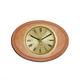 shopbestlove: Blonde Oval Bead Wood Finish clock w/ 3 inch dial