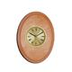 shopbestlove: Blonde Verticle Oval Bead Wood Finish clock w/ 2 inch dial