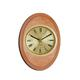 shopbestlove: Blonde Verticle Oval Bead Wood Finish clock w/ 3 inch dial